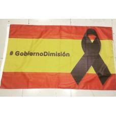 Bandera #gobiernodimisión