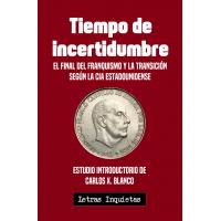 """Libro """"Tiempo de incertidumbre"""""""