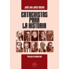 """Libro """"Entrevistas para la historia"""""""