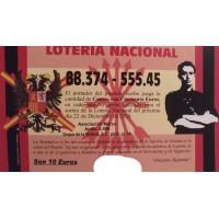 Lotería de Navidad Onésimo Redondo