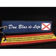 Llavero Don Blas de Lezo II