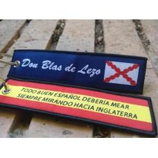 Llavero Don Blas de Lezo I