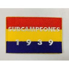 Parche Subcampeones 1939