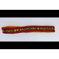 Pulsera ¡¡Viva la unidad de España!!
