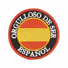 "Parche ""Orgulloso de ser español"""
