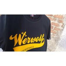 Camiseta Werwolf negra T
