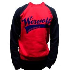 Sudadera Werwolf rojo